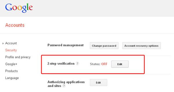 Mẹo nhỏ để Gmail không thể bị hacker tấn công