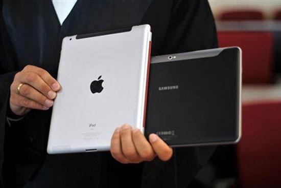 Tỷ số cuộc đấu dai dẳng giữa Samsung và Apple