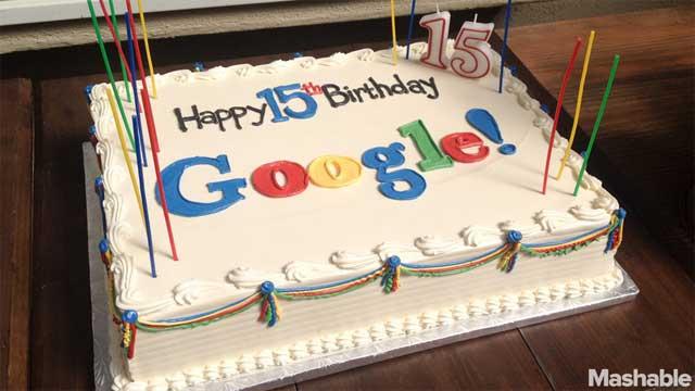 Google và những con số ấn tượng sau 15 năm