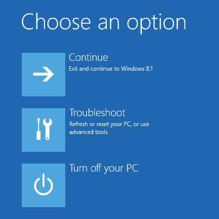 Tạo USB Recovery trong Windows 8.1