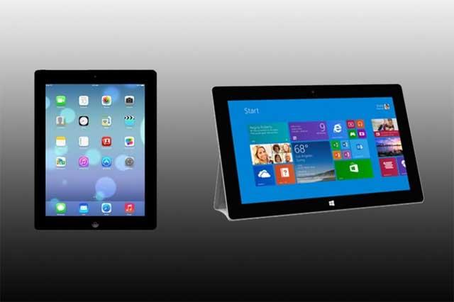 Chọn Surface 2 hay iPad 4?