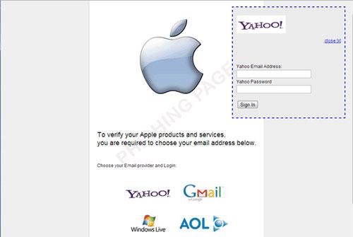 Lợi dụng Apple để lừa đảo người dùng