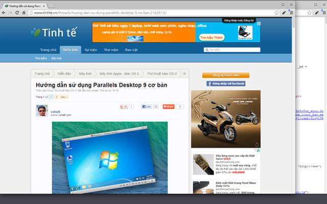 Google đưa Chrome OS vào trong Windows 8