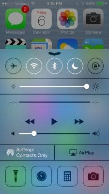 Vô hiệu Control Center tại màn hình Lock Screen của iOS 7