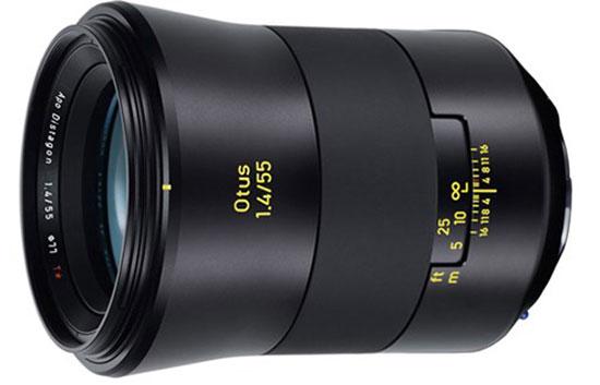 ZEISS ra mắt ống kính Otus 1.4/55 giá 3999 USD