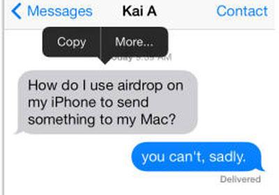 Cách xóa và chuyển tiếp tin nhắn trong iOS 7