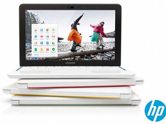 HP công bố bộ đôi Chromebook mới đa sắc màu
