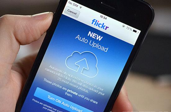 Flickr trên iOS thêm tính năng tải ảnh tự động