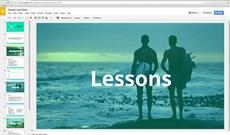 Google cập nhật trình ứng dụng trực tuyến Slides