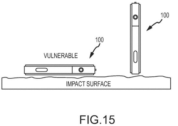 Thiết bị Apple sẽ biết tự bảo vệ khi bị rơi?