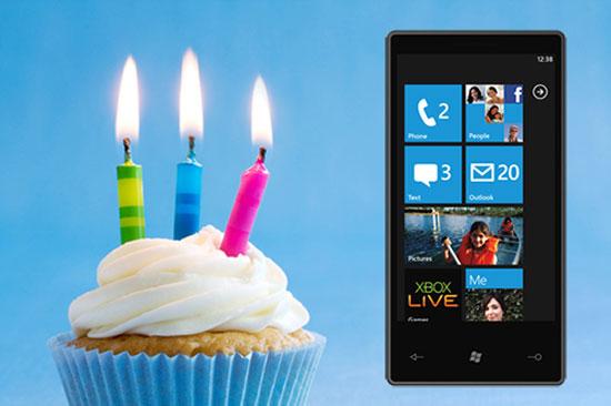 Mừng sinh nhật 3 tuổi của Windows Phone và giao diện Metro