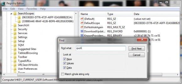 Cách gỡ bỏ hoàn toàn Qvo6 khỏi trình duyệt firefox và trên máy tính