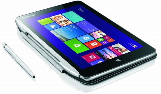 Tablet Miix 8 sử dụng chip lõi tứ Intel Bay Trail