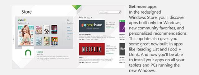Hướng dẫn cập nhật Windows 8.1 trực tiếp từ Store
