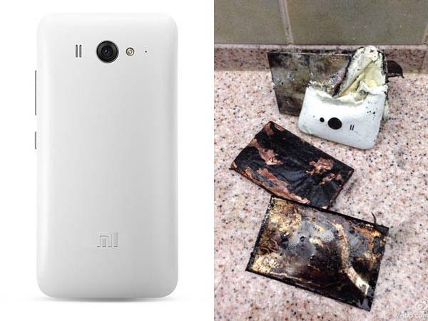 Lại thêm smartphone tự phát nổ gây bỏng