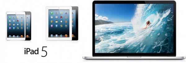 iPad Mini Retina, iPad 5 không có Touch ID