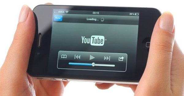 40% người dùng xem YouTube từ di động