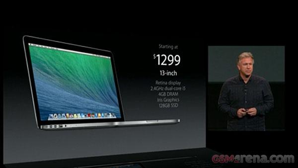 Apple trình làng MacBook Pro màn hình Retina