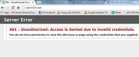 Báo điện tử Tầm Nhìn bị hacker tấn công