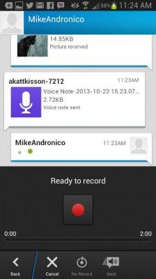 Hướng dẫn sử dụng ứng dụng nhắn tin BBM trên Android