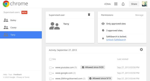 Chrome thêm tính năng kiểm soát nội dung bạo lực, khiêu dâm