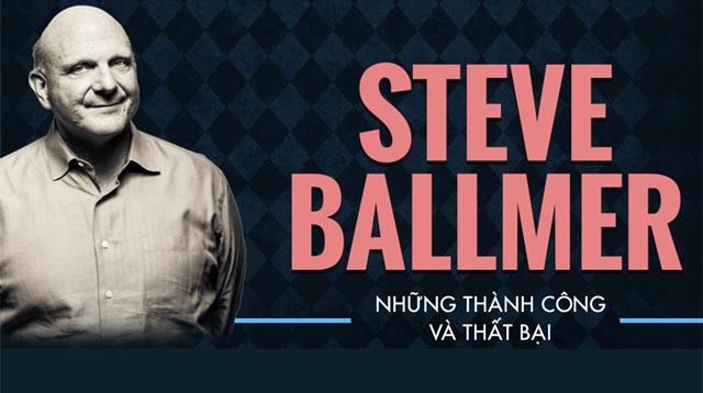 Steve Ballmer những thành công và thất bại