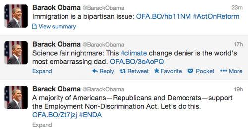 Facebook và Twitter của Tổng thống Obama bị tấn công