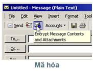 Gửi email được mã hoá