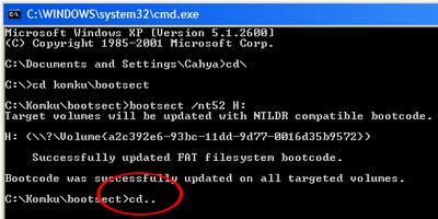 step7 Hướng dẫn cài đặt Windows XP từ ổ USB Flash