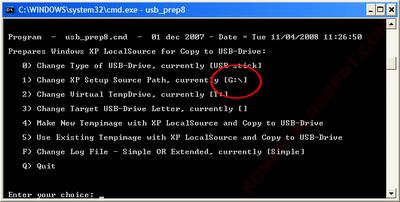 step8c Hướng dẫn cài đặt Windows XP từ ổ USB Flash