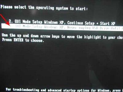 step9 Hướng dẫn cài đặt Windows XP từ ổ USB Flash