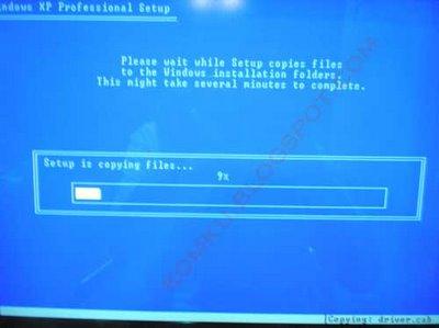 step9a Hướng dẫn cài đặt Windows XP từ ổ USB Flash
