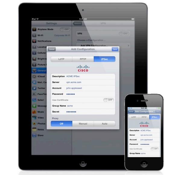 Triển khai, ứng dụng iPhone trong mô hình doanh nghiệp - phần 1