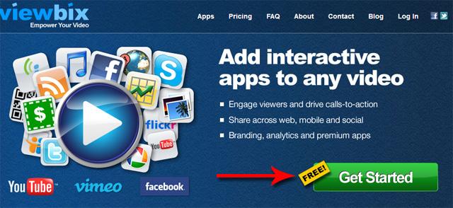 Thêm ứng dụng và liên kết vào video YouTube, Vimeo và Facebook