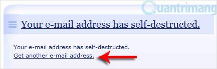 Hai dịch vụ Email dùng một lần giúp loại bỏ Spam