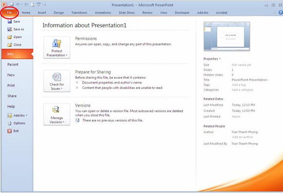 Hướng dẫn sử dụng PowerPoint hiệu quả