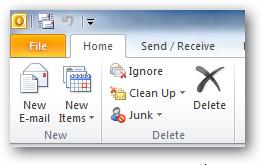Tạo và sử dụng Template trong Outlook 2010