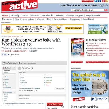 Hướng dẫn tạo trang Wordpress blog