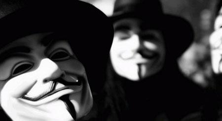 """Hàng loạt trang web lớn bị nhóm hacker khét tiếng Anonymous """"ghé thăm"""""""
