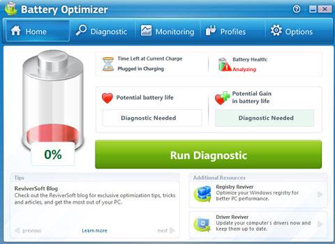 2 công cụ giúp kéo dài thời gian sử dụng pin laptop