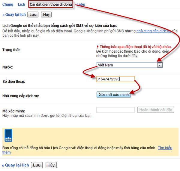 Cài đặt hệ thống tự động gửi SMS cảnh báo khi website bị sập