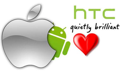 HTC và Apple ngừng chiến trong 10 năm về bằng sáng chế