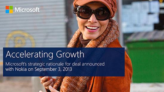 Microsoft đã nộp đơn xin phép được mua Nokia