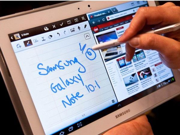 Samsung là thương hiệu máy tính bảng ưa thích ở Mỹ