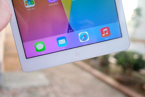 Cảm nhận ban đầu về iPad Air