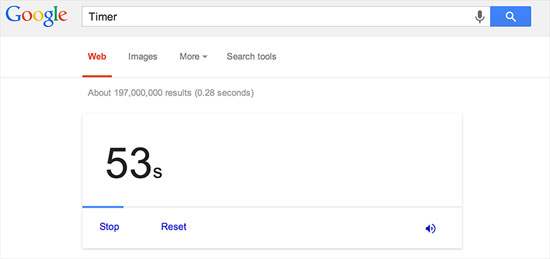 Những mẹo hữu ích khi tìm kiếm với Google