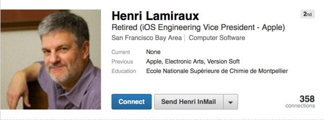 Lãnh đạo hàng đầu mảng iOS rời Apple