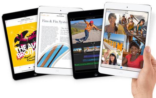 iPad Mini 2 có thể lỡ hẹn vì khan hàng