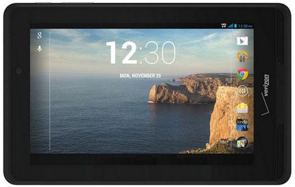Verizon chính thức ra mắt tablet 4G giá cực rẻ