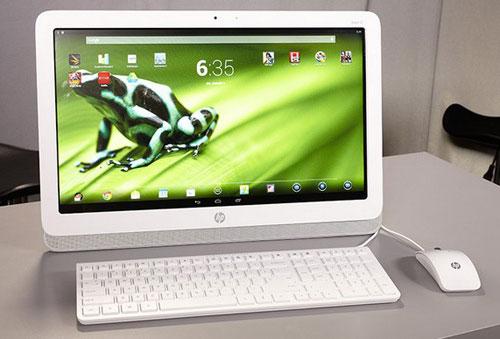 HP ra mắt máy tính để bàn chạy Android
